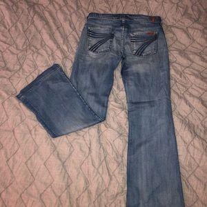 7 For All Mankind Dojo Denim Jeans